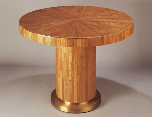 RAFFIA WOOD MARQUETRY TABLE