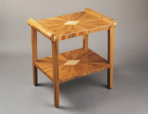TWO TIER TRAY TABLE